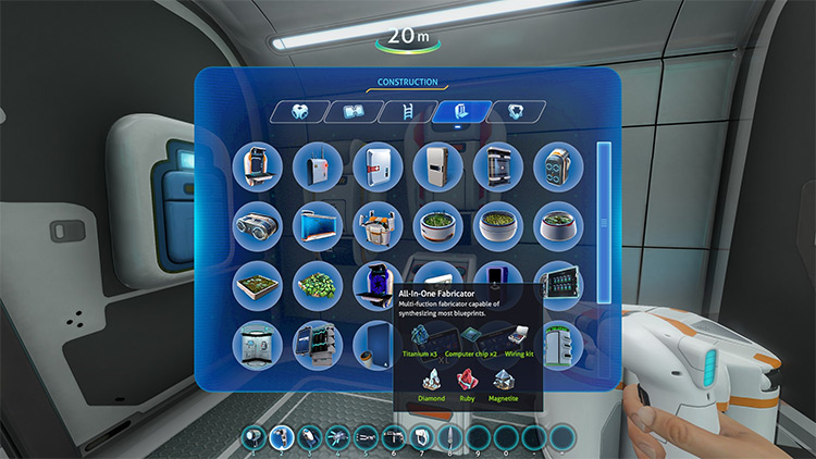 All-in-One Fabricator in Subnautica