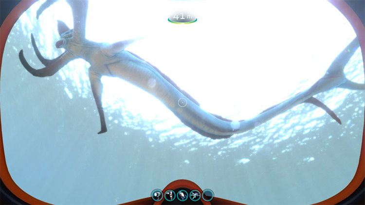 Passive Reapers mod for Subnautica