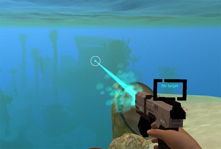 Tech Pistol 2.0 Subnautica mod