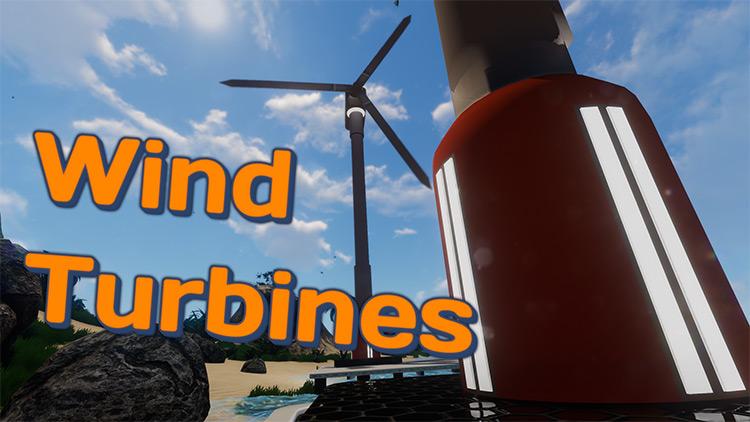 Wind Turbines in Subnautica