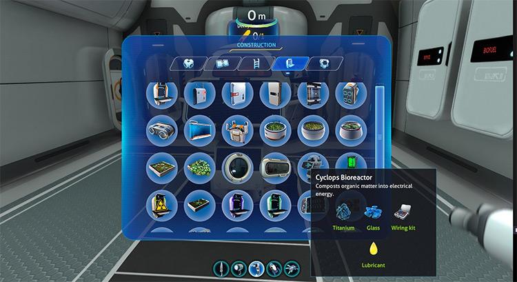 Cyclops BioReactor Subnautica mod
