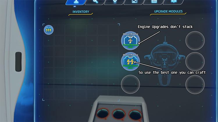 Cyclops Engine Upgrades Subnautica mod