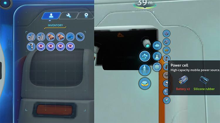 EasyCraft Subnautica mod screenshot