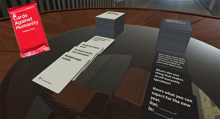 Cards Against Humanity + Expansions Tabletop Simulator mod