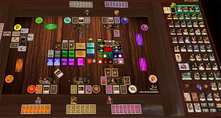 Red Dragon Inn – Complete Collection in Tabletop Simulator