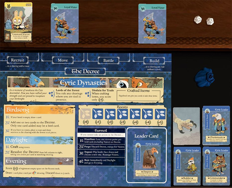 ROOT + Expansions in Tabletop Simulator