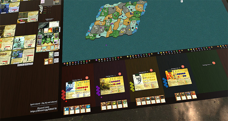 Spirit Island Tabletop Simulator mod