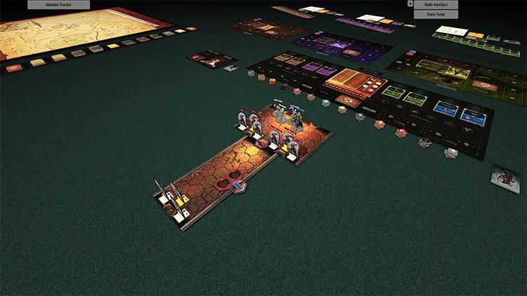 Gloomhaven – Fantasy Setup mod for Tabletop Simulator