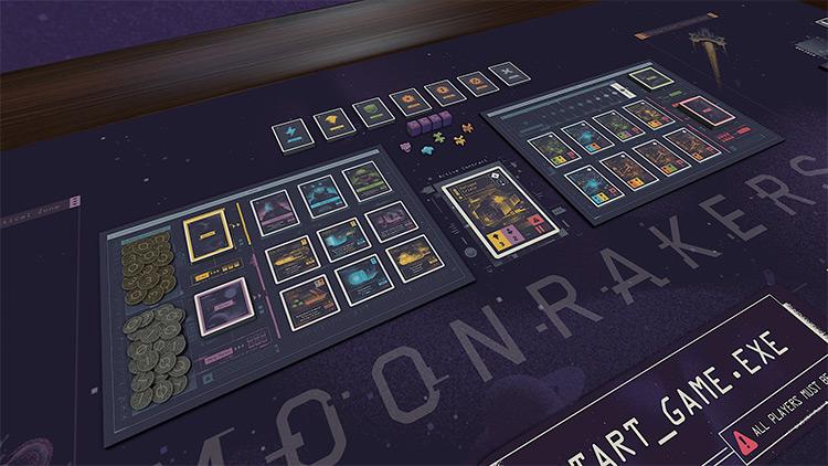 Moonrakers mod for Tabletop Simulator