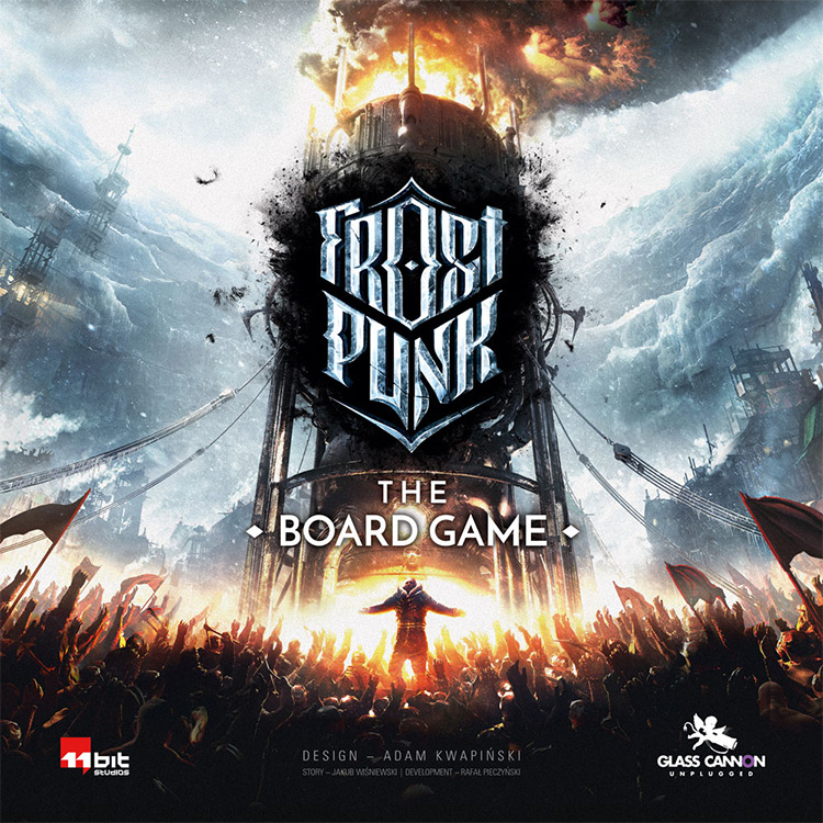 Frostpunk: The Board Game mod for TTS