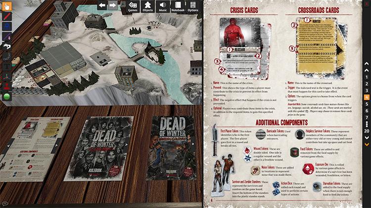 Dead of Winter in Tabletop Simulator