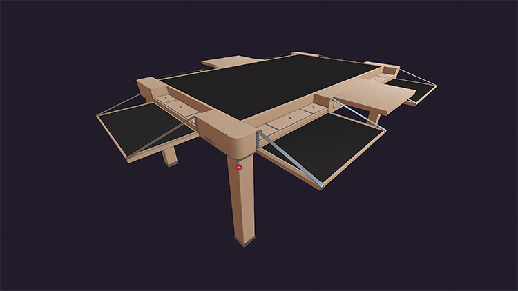 The Chimera Table mod for Tabletop Simulator