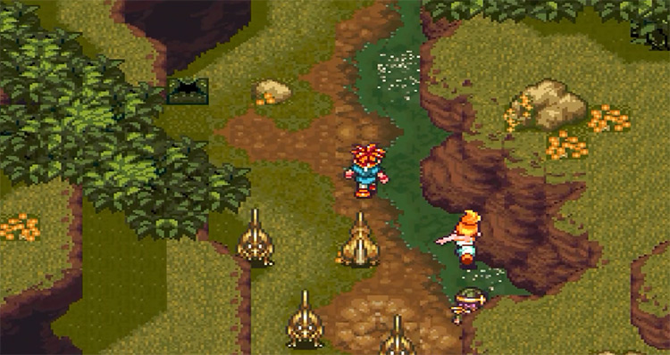 Chrono Trigger SNES gameplay screenshot