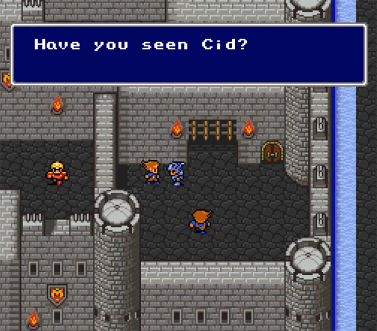 Final Fantasy IV SNES game screenshot