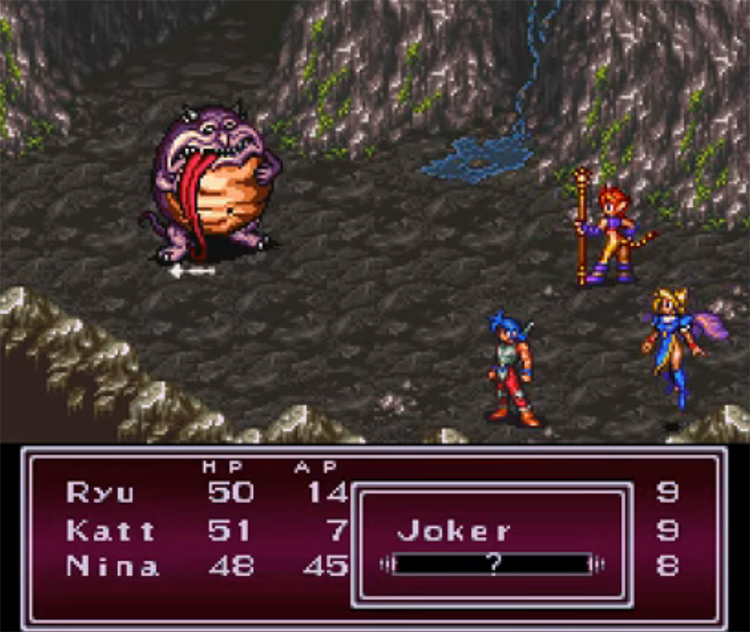 Breath of Fire II gameplay