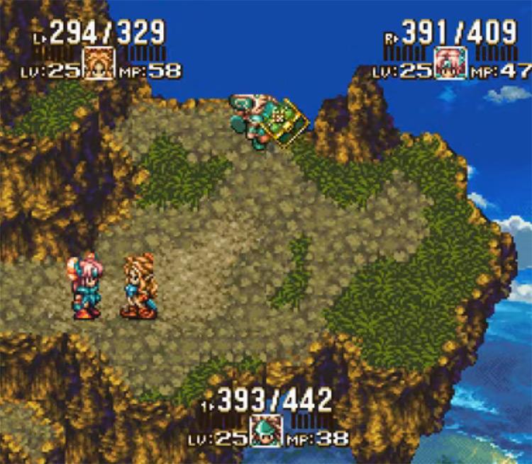 Seiken Densetsu III SFC gameplay