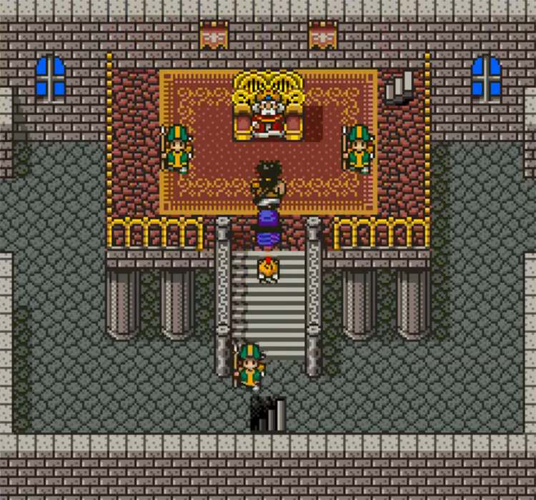 Dragon Quest V SFC gameplay
