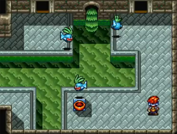 Robotrek SNES gameplay screenshot