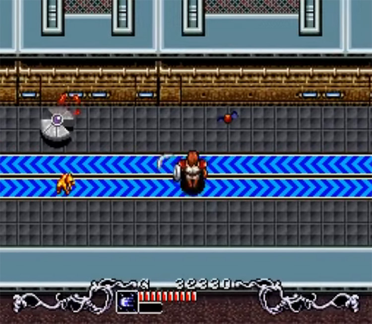 Brain Lord SNES gameplay screenshot