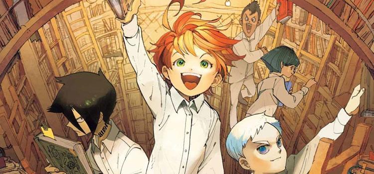 Promised Neverland Manga Vol2 Cover