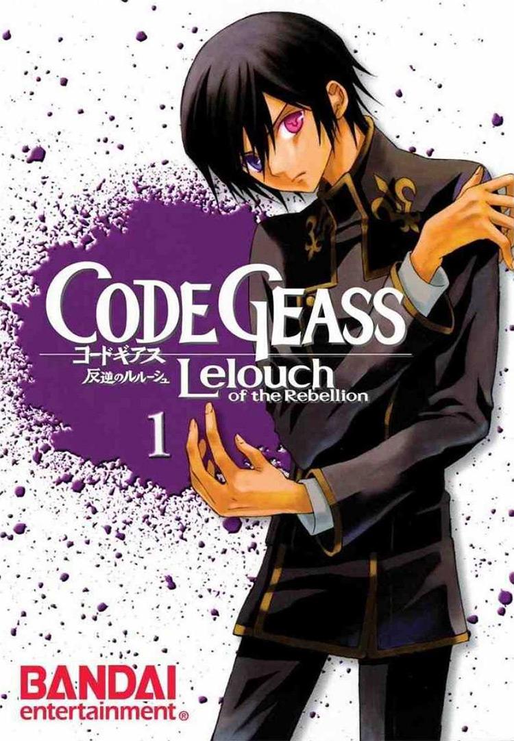 Code Geass: Lelouch of the Rebellion (Code Geass: Hangyaku no Lelouch) manga