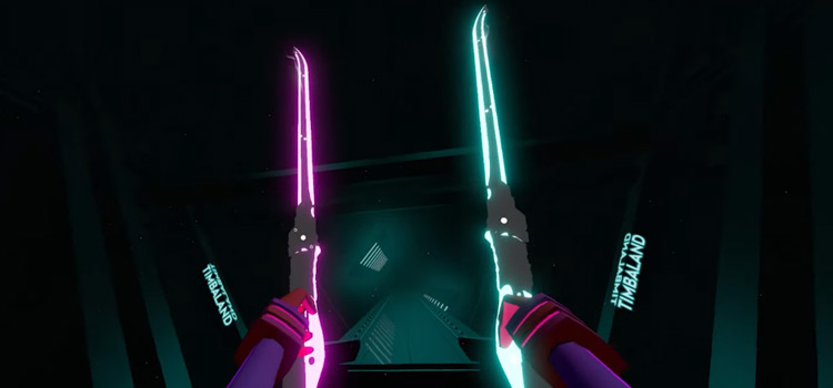 Cyber Blade Modded Saber for Beat Saber
