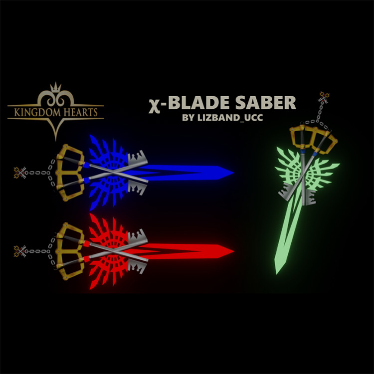 χ-Blade Beat Saber mod screenshot