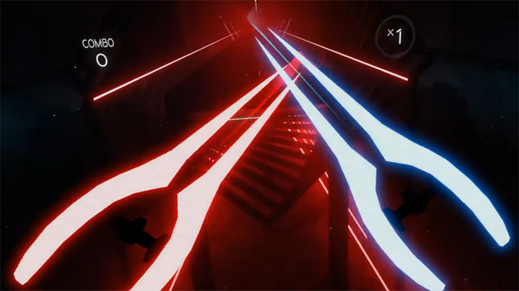 Energy Swords mod for Beat Saber