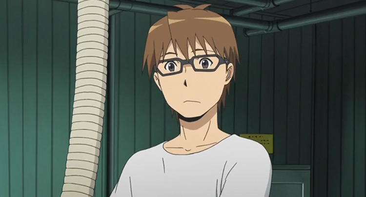 Yuugo Hachiken from Silver Spoon anime