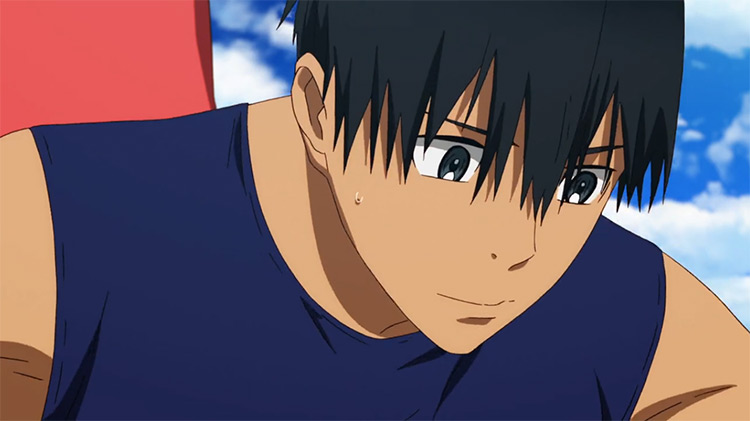 Kakeru Kurahara in Run with the Wind anime