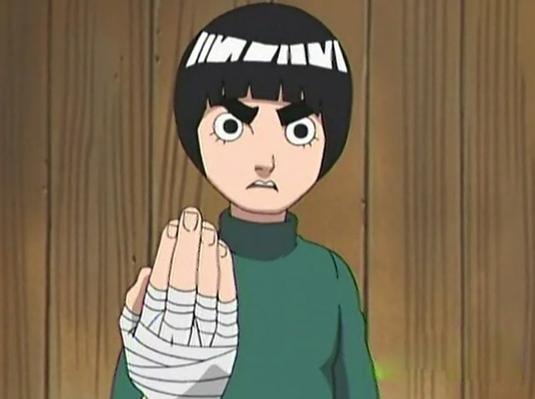 Rock Lee in Naruto anime