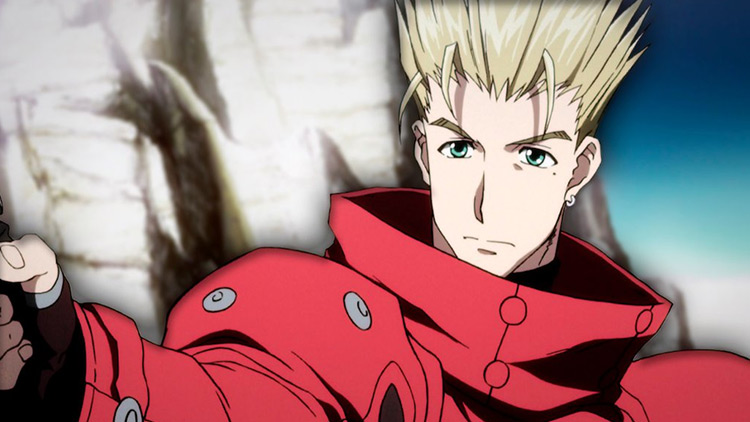 Vash the Stampede from Trigun anime