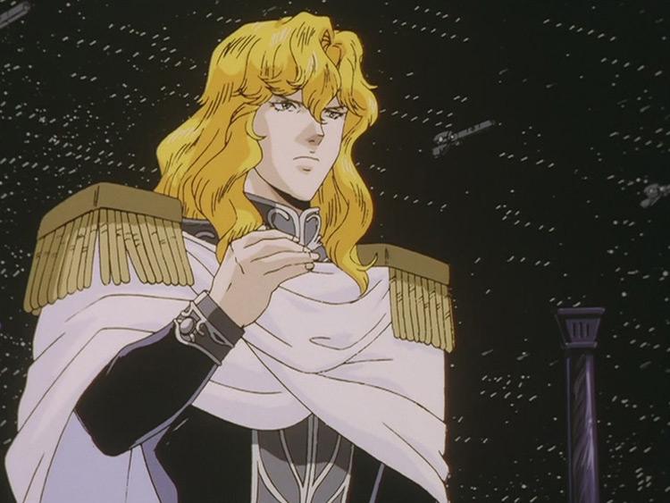 Reinhard Von Lohengramm from LOGH anime