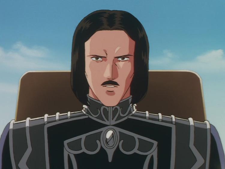 Ernest Mecklinger from LOGH anime