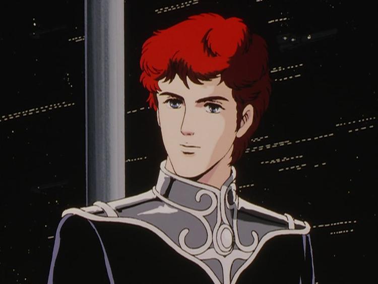 Siegfried Kircheis in Legend of the Galactic Heroes anime