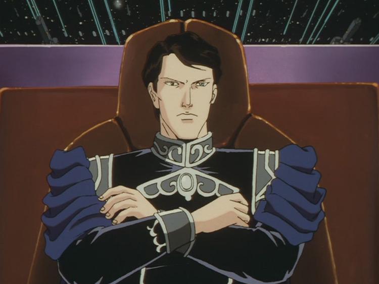 Oskar von Reuenthal LOGH anime screenshot