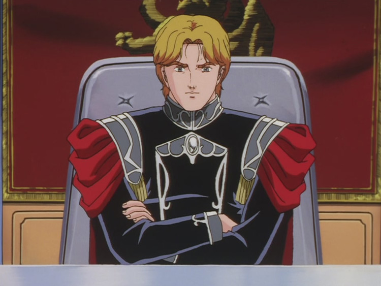 Wolfgang Mittermeyer in Legend of the Galactic Heroes