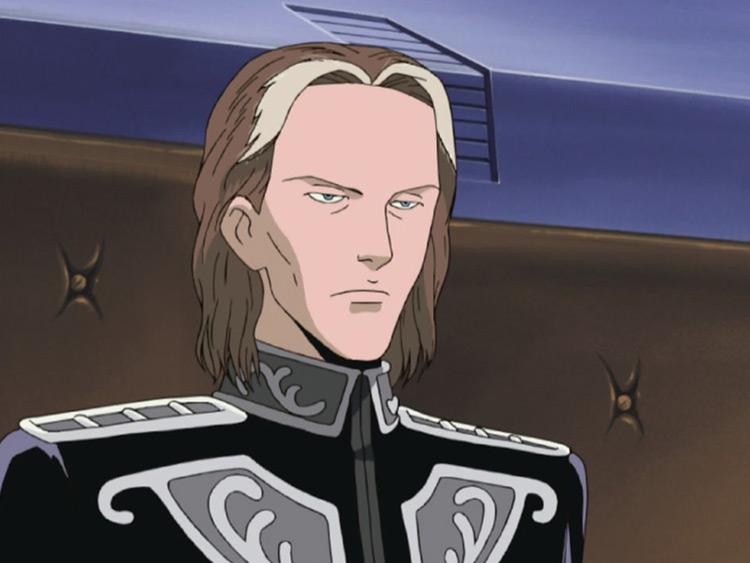 Paul von Oberstein from LOGH anime