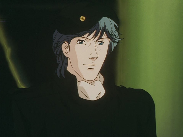 Dusty Attemborough in Legend of the Galactic Heroes anime