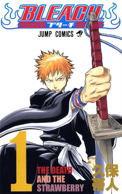 Bleach manga cover