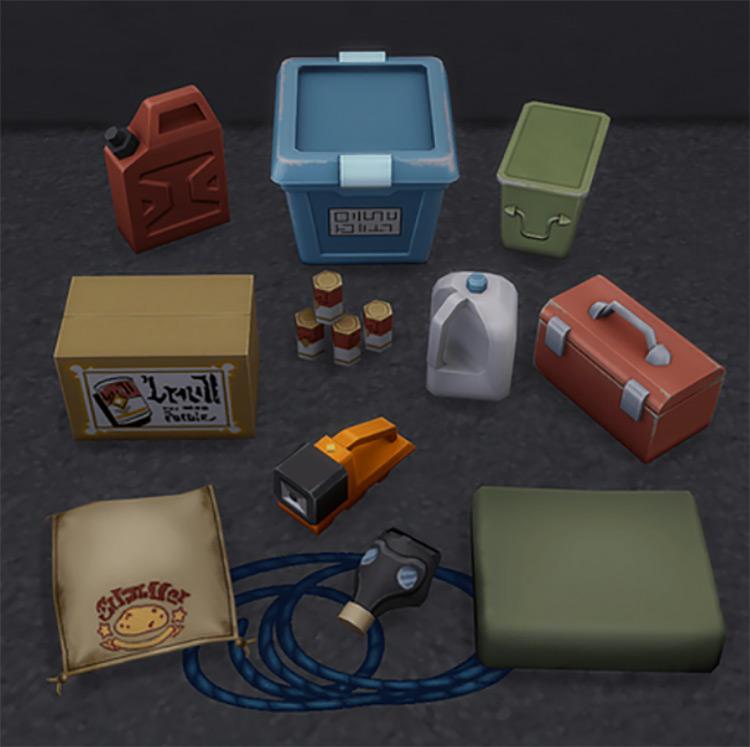 Survival Clutter Sims 4 CC