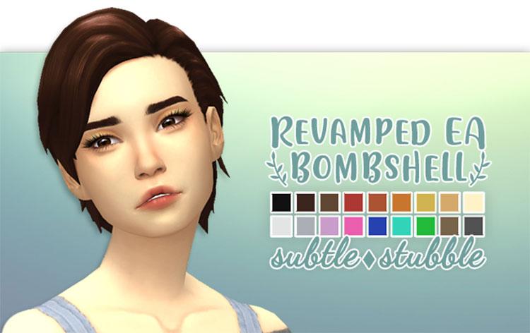 Short Bombshell Hair CC - TS4