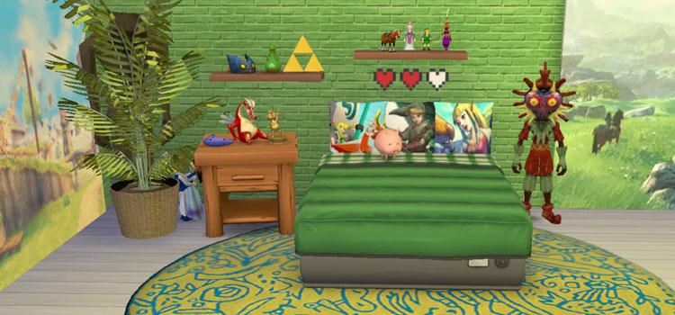 Legend of Zelda Objects CC - TS4 Bedroom