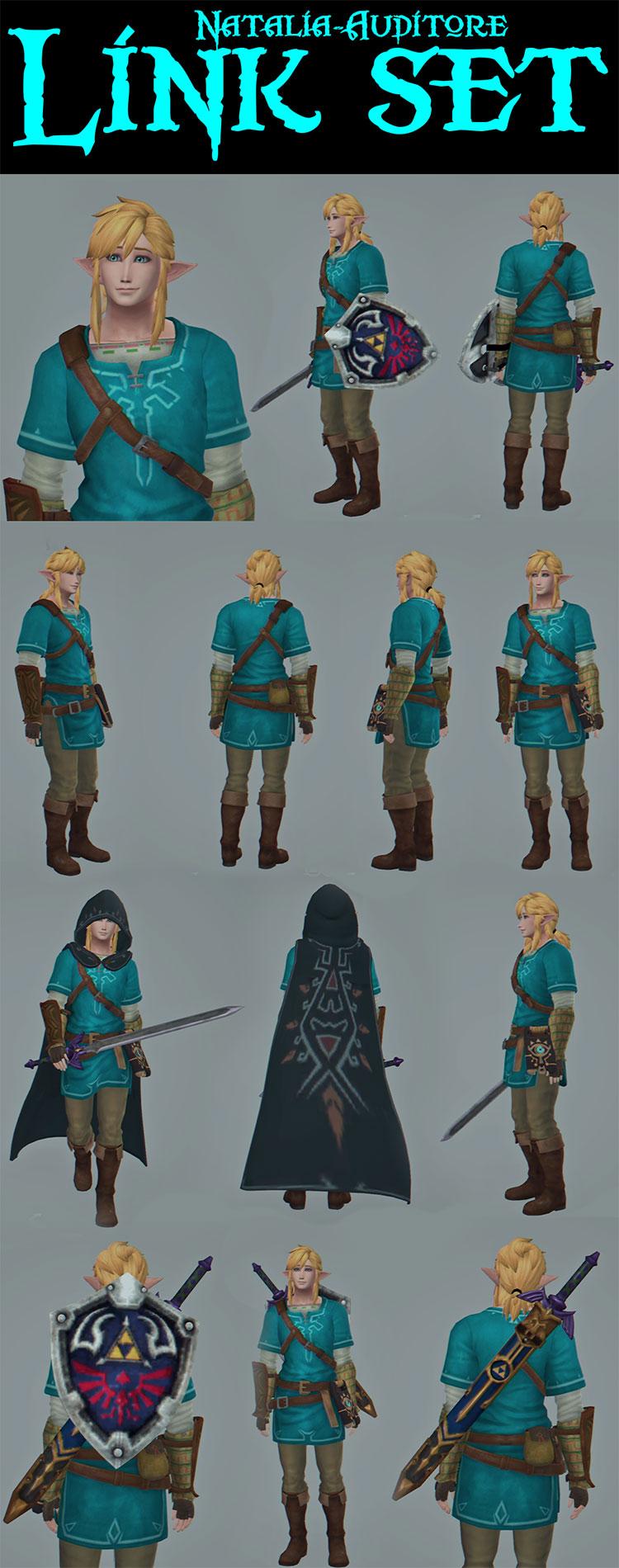 Link Character Set - TS4 CC