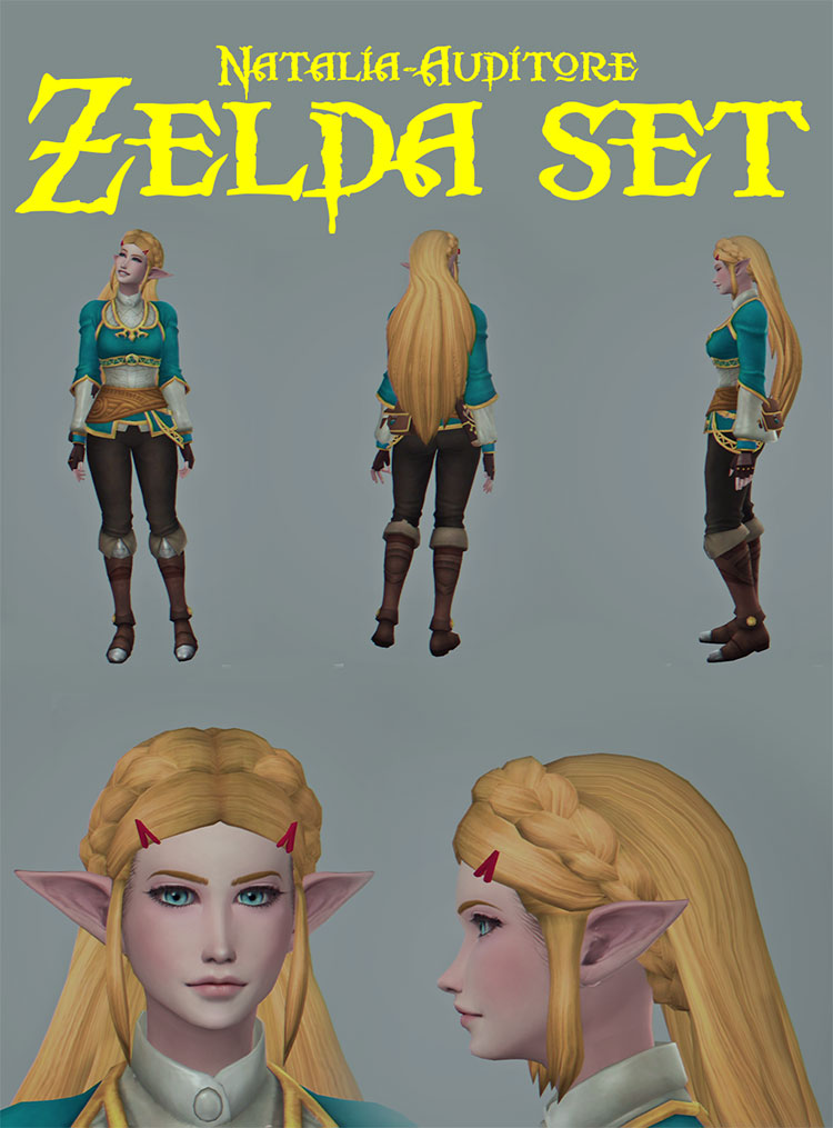 Zelda Character Set - TS4 CC