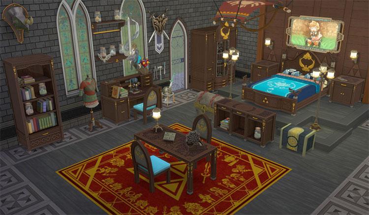 Breath of the Wild Bedroom Set - Sims 4 CC