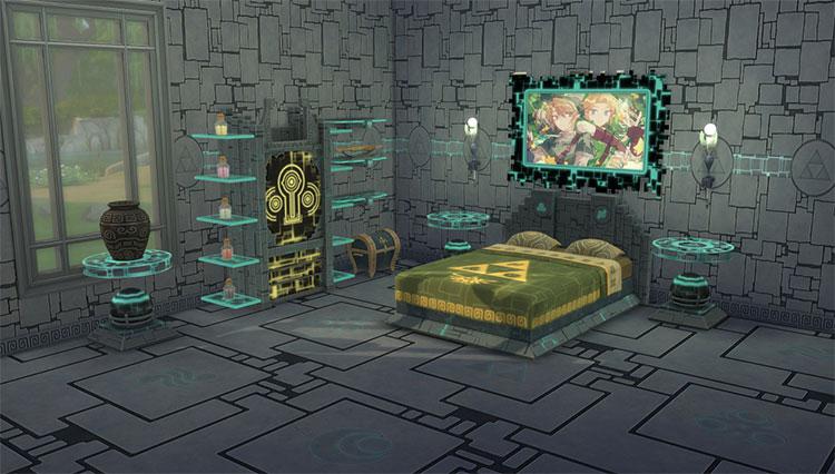 Twilight Princess Bedroom Set - Sims 4 CC