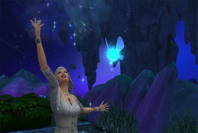 Fairy Familiar Override CC - Sims 4
