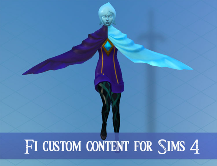 Fi Character Set For The Sims 4