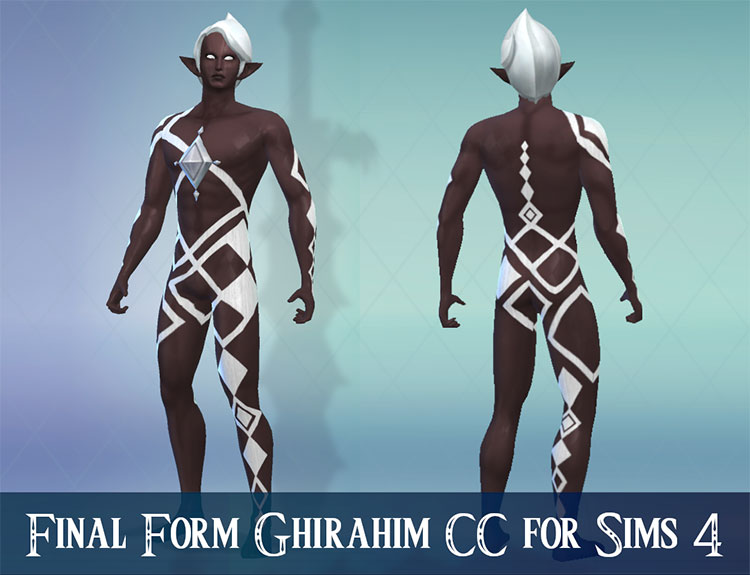Ghirahim Character Set CC for Sims 4